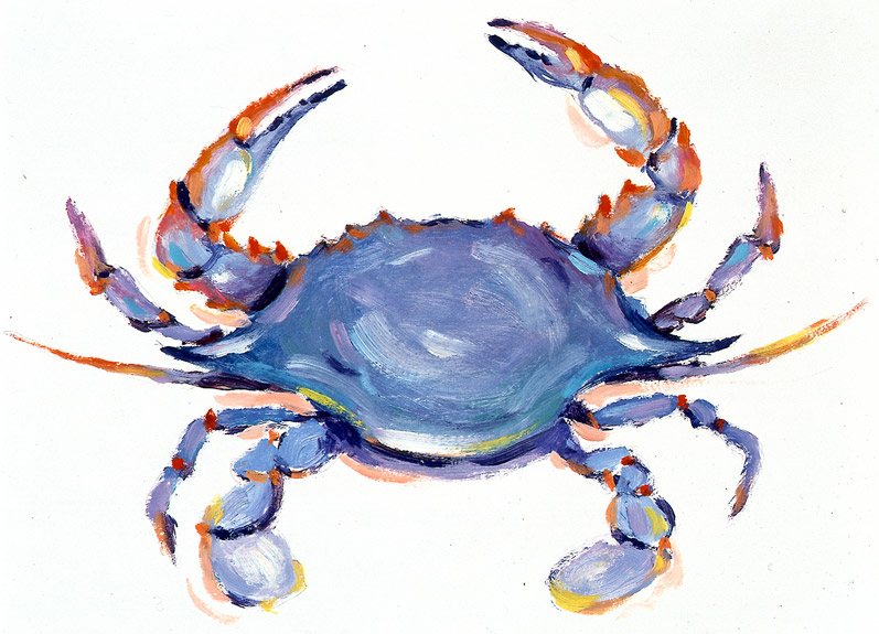 how to prepare frozen blue crab