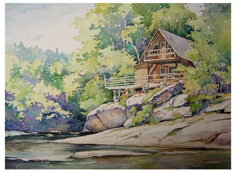 Watercolor : Gary Palmer Illustration